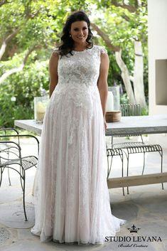 vestidos noiva plus size renda