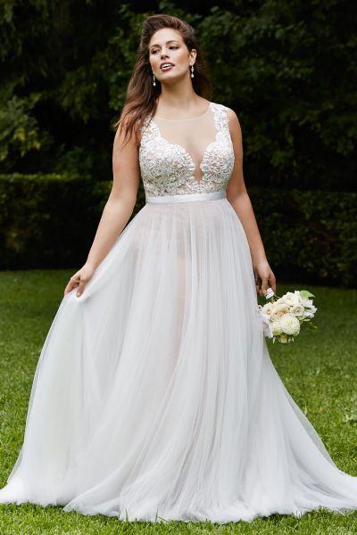 vestidos noiva plus size