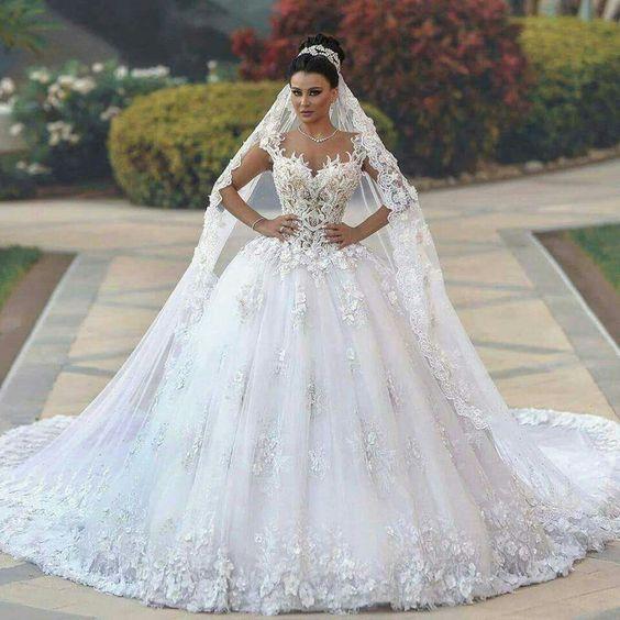 vestidos noiva romanticos 3