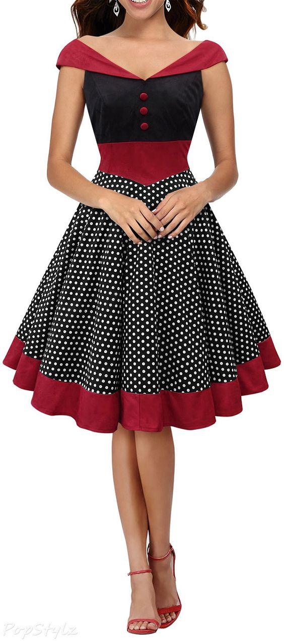 vestidos vintage modelos como usar 4