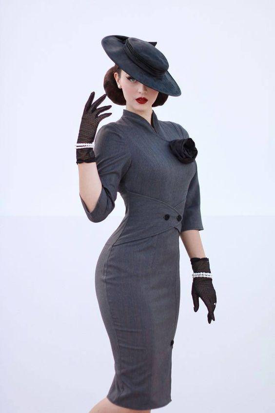 vestidos vintage modelos como usar 5