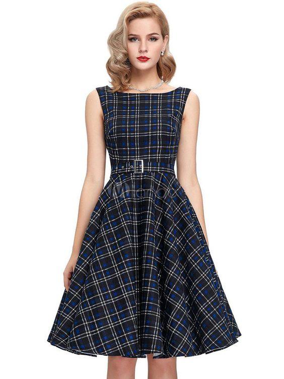 vestidos vintage modelos como usar 6