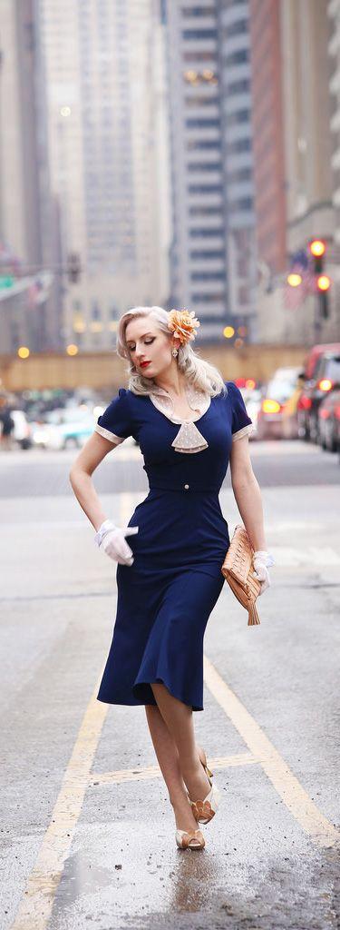 vestidos vintage modelos como usar 7