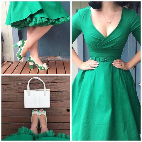 vestidos vintage modelos como usar 9